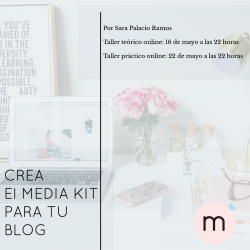 Taller: Crea el media kit...
