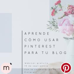 Webinar de Pinterest